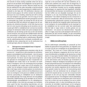 Nieuwsbrief Arbeidsrecht mei 2021
